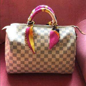 SOLD Louis Vuitton Damier azur speedy 30
